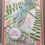 Hello Spring ! InKing Royalty Blog Hop