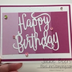 Pink and White Birthday