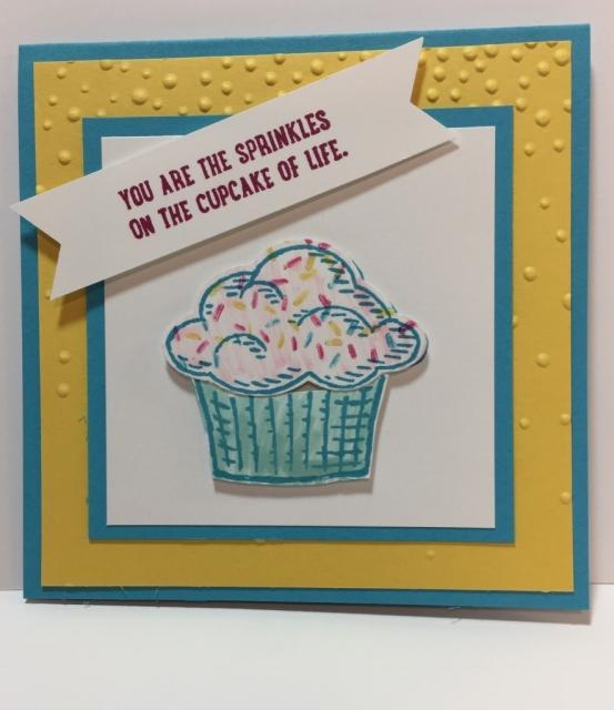 Stampin' Up! Sprinkles of Life card, stampinup, Jackie Beers, jackiebeers