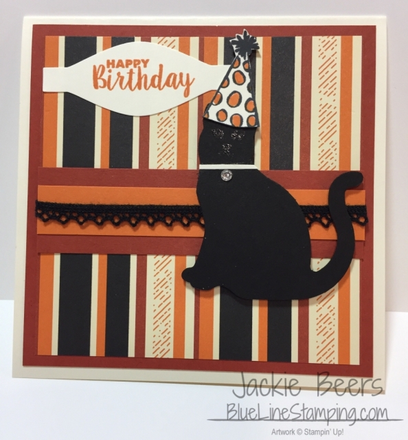 Stampin' Up! Cat Punch, Stampinup Cat Punch, Jackie Beers, jackiebeers