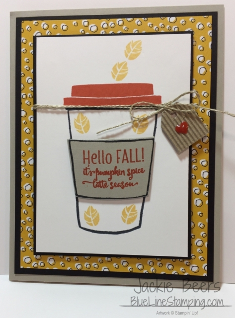 Stampin' Up! Merry Cafe, Merry Cafe, stampinup , Jackie Beers