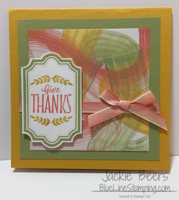 Stampin' Up! Labels To Love, Jackie Beers