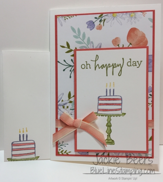 Stampin' Up! Happiest of Days, Jackie Beers, stampinup happiest of days, jackiebeers