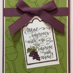A Wine Card