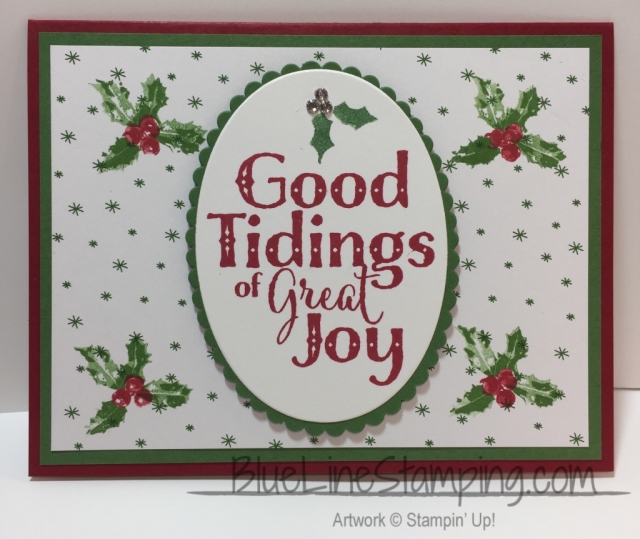 Stampin' Up! Good Tidings, stampinup good tidings