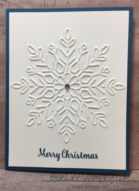 Stampin' Up! Winter Wonder Embossing Folder, stampinup , winter wonder, Jackie Beers, jackiebeers