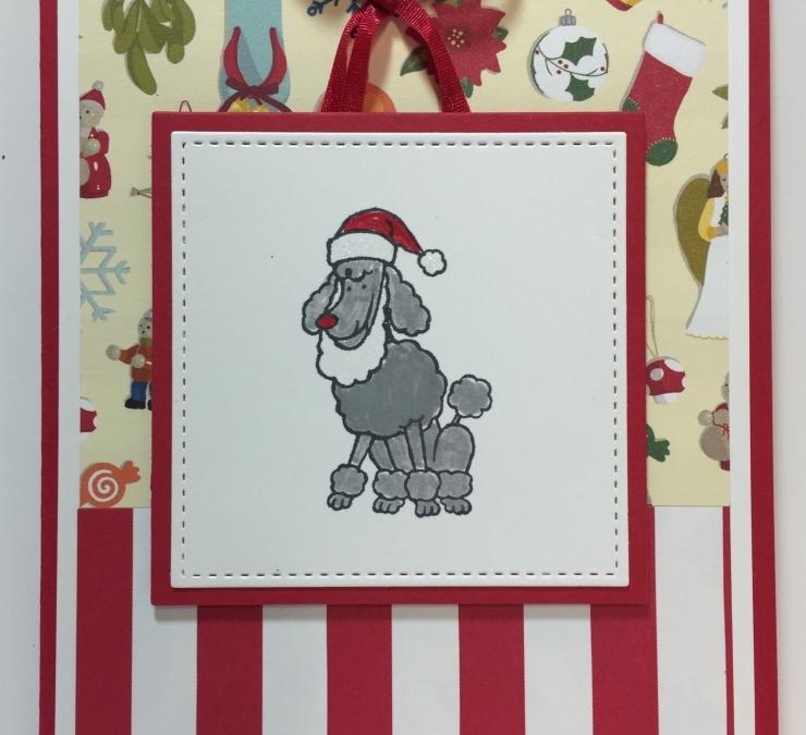 Poodle Santa