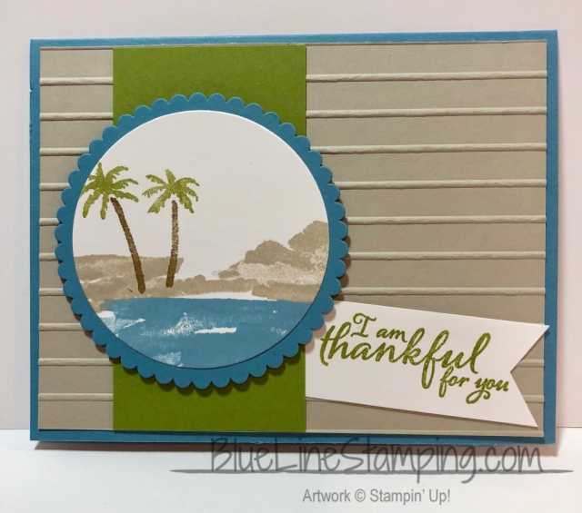 Stampin' Up! Waterfront, Jackie Beers, Waterfront, jackiebeers, stampinup