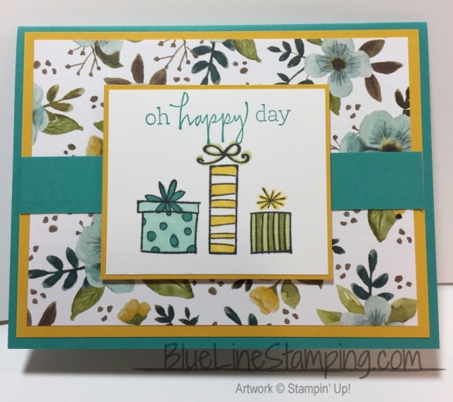Stampin' Up! Happiest of Days, jackiebeers, stampinup,