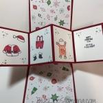 Santa Card with a Twist