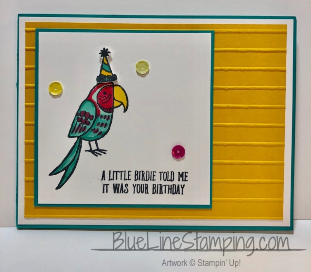 Stampin' Up! Bird Banter Jackie Beers