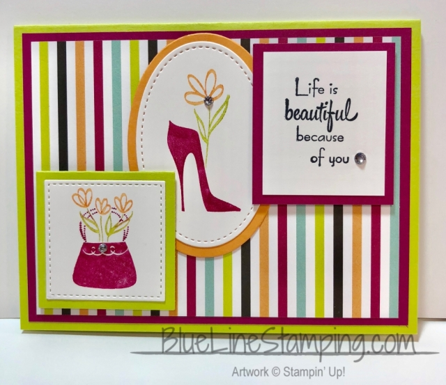 Stampin' Up! , A Mother's Flair, Jackie Beers