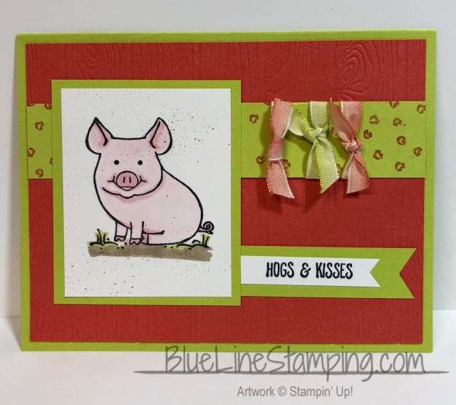 Stampin' Up!, This Little Piggy, Jackie Beers, stampinup, little piggy, jackiebeers
