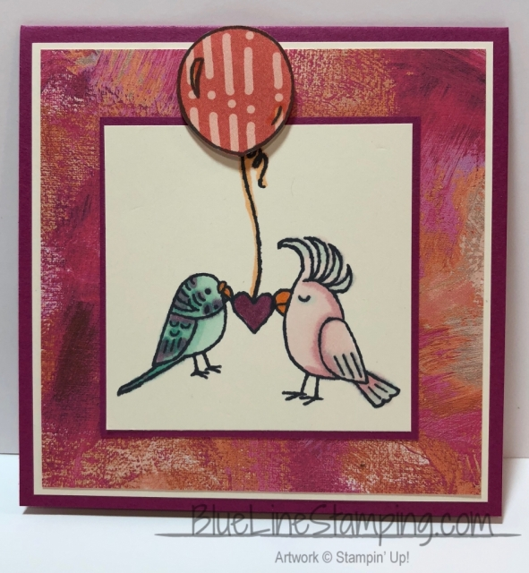 Stampin' Up! Bird Banter Jackie Beers, stampinup, bird banter, jackiebeers