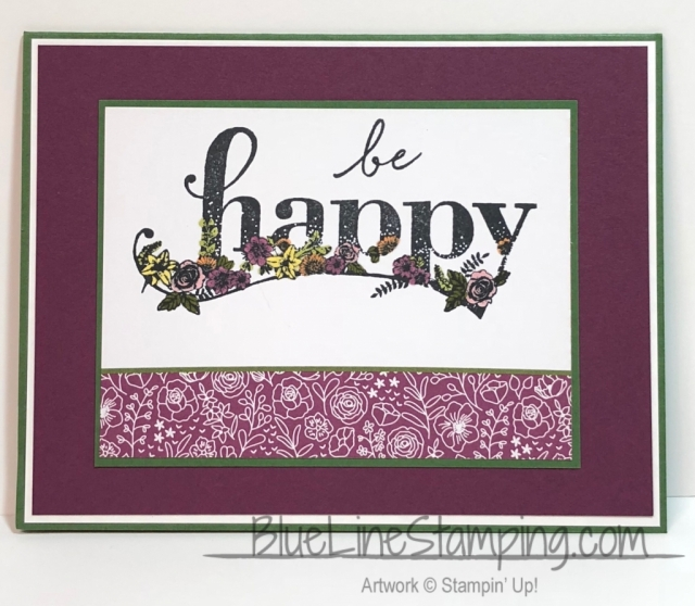 Stampin' Up!, Happy Wishes, Jackie Beers, stampinup, happy wishes, jackiebeers