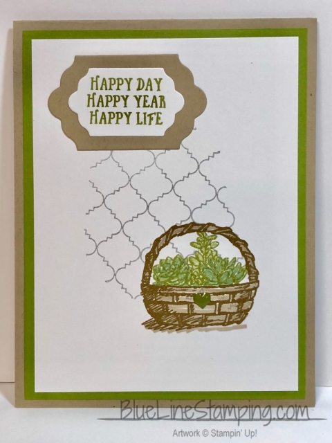 Stampin' Up!, Basket of Wishes, Jackie Beers, stampinup, jackiebeers