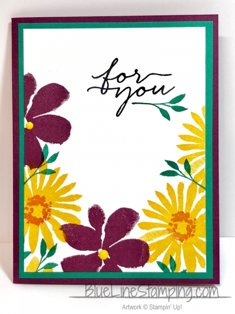 Stampin' Up!, Blooms & Wishes, Jackie Beers, stampinup, blooms and wishes, jackiebeers