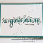 Triple Layer Congratulations