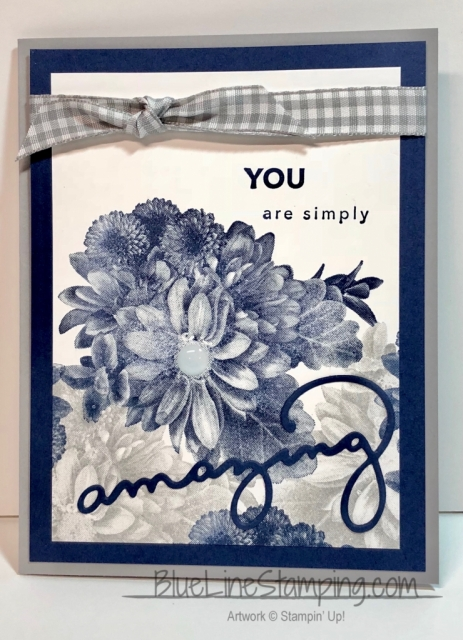 Stampin' Up!, Amazing You, Heartfelt Blooms, Jackie Beers