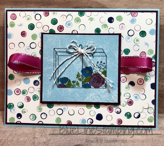 Stampin' Up!, Cake Soiree, Tranquil Texture, Jackie Beers