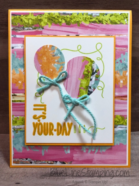 Stampin' Up!, Around The Corner, Picture Perfect, Mango Melody, Lemon Lime Twist, Jackie Beers