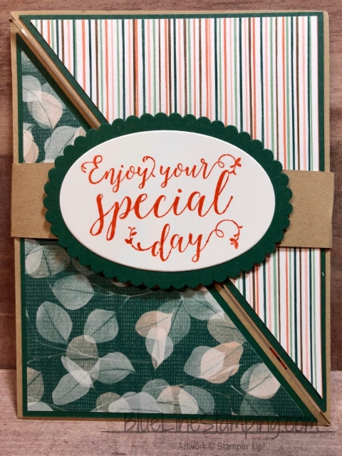 Stampin' Up!, Stitched All Around, Nature's Poem, Picture Perfect birthday, Jackie Beers
