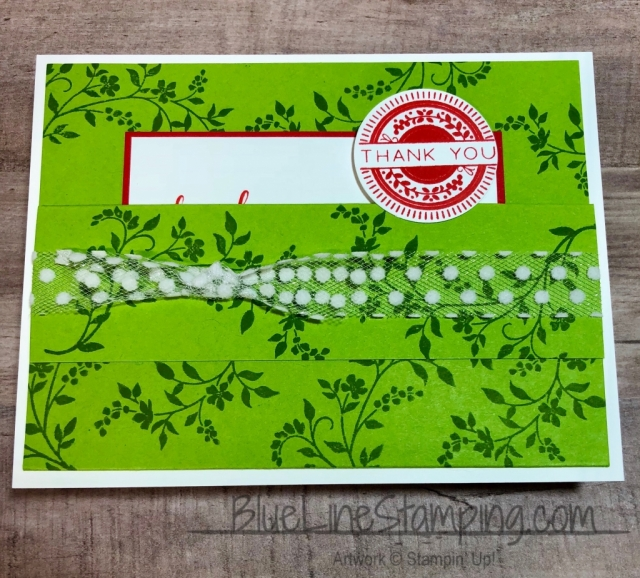 Stampin' Up!, stampinup, stitched all around, granny apple green, poppy parade, jackie beers