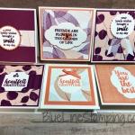 3 X 3 Cards for Copper Tea Tin