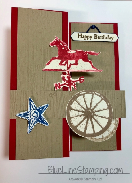 Stampin' Up!, stampinup, Country Road, Z Fold, Double Z Fold, Jackie Beers