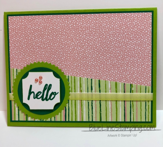Stampin' Up!, stampinup, Darling Label Punch, Darling Label Punch Box, tropical Escape, Jackie Beers