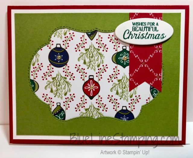 Stampin' Up!, Stitched Season, Blended Seasons, Nature Sings, Under the Mistletoe, Jackie Beers