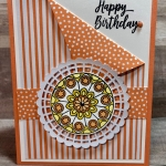 Painted Glass Birthday