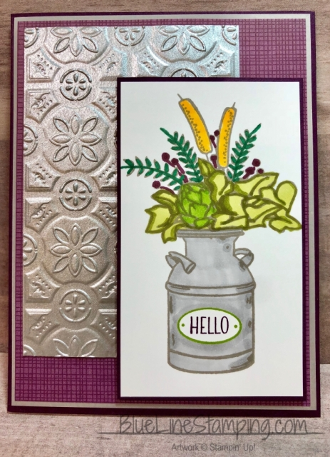 Stampin' Up!, Country Home, Tin Tiles, Jackie Beers