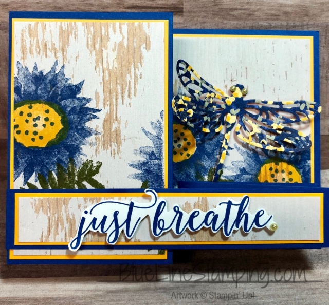 Stampin' Up!, Painted Harvest, Colorful Season, Detailed Dragonfly, Jackie Beers