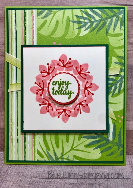 Stampin' Up!, Stamparatus, Tropical Chic, Colorful Seasons, Jackie Beers