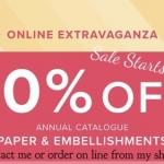 Extravaganza Sale