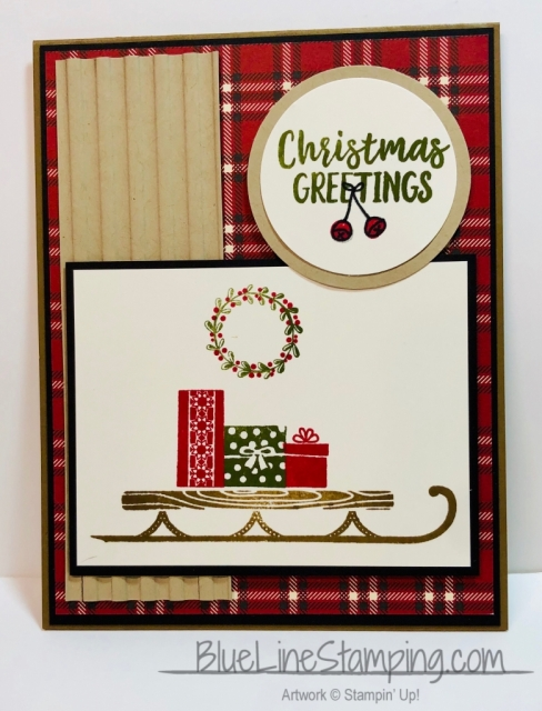 Stampin' Up!, Alpine Adventure, Farmhouse DSP, Jackie Beers
