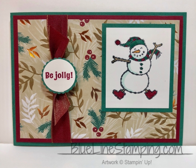 Stampin' Up!, Spirited Snowmen, Candy Cane Season, Jackie Beers