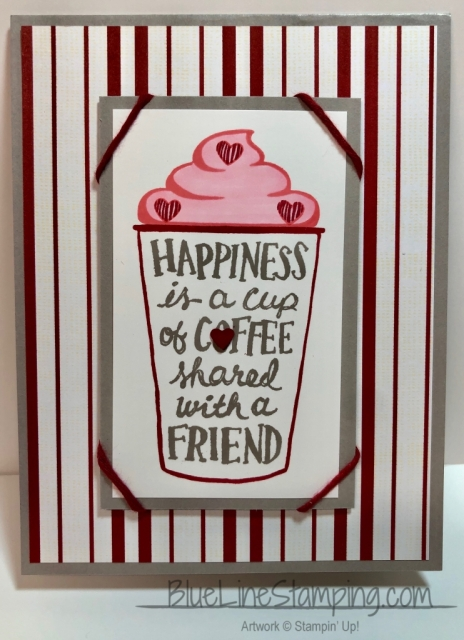 Stampin' UP!, Jackie Beers, Coffee Cafe, #SimpleStamping, Festive Farmhouse