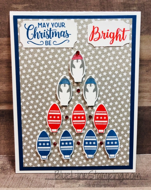 Stampin' Up!, Making Christmas Bright, Making Everyday Bright, Blueberry Bushel, Jackie Beers