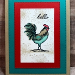 Bright Rectangle Rooster