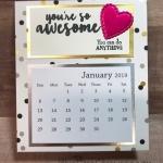 A-Frame Desk Calendar
