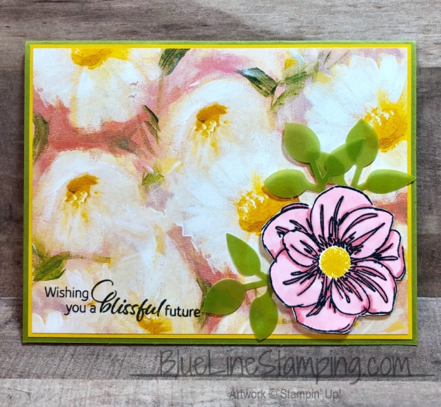 Stampin' Up!, Floral Essence, Perennial Essence DSP, Perennial Essence Vellum, Leaf Punch, Jackie Beers