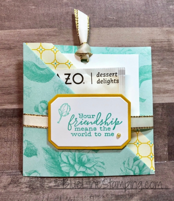 Stampin' Up!, Jackie Beers, Tea Room, Frosted Bouquet, Free As A Bird