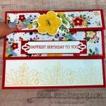 Fancy Fold Birthday