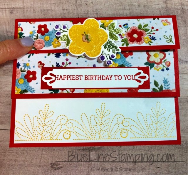 #stampingup, Stampin' Up!, Needle & Thread, Needlepoint, Jackie Beers