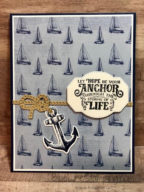 Stampin' Up!, Sailing Home, Come Sail Away, Jackie Beers