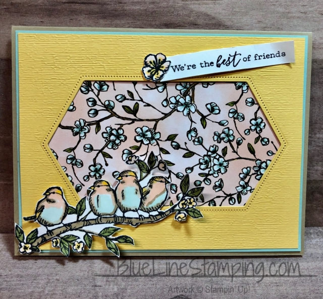 Stampin' Up!, Free As A Bird, Stitched Nested Labels, Subtle Embossing, Bird Ballad, Jackie Beers