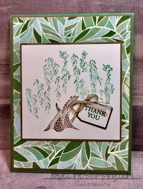 "Stampin"" Up!, Memorable Mosaic, A Big Thank You, Cup of Cheer Dies,Jackie Beers"