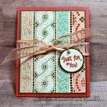 Mosaic Gift Card Holder